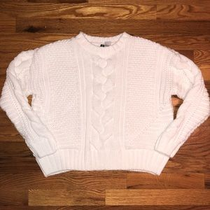 Cable Knit Thick Cozy Sweater